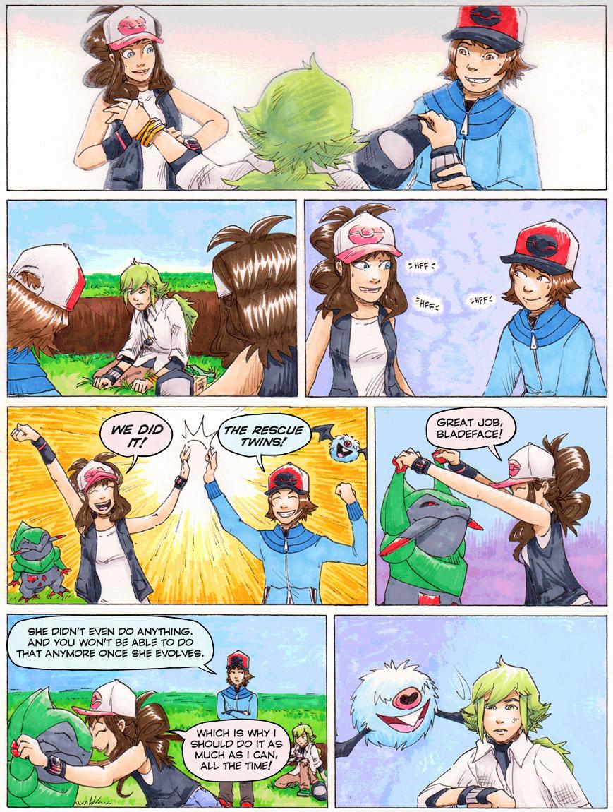 Funny Pokemon Black And White Comics black paint on white walls, page 20violarae on deviantart