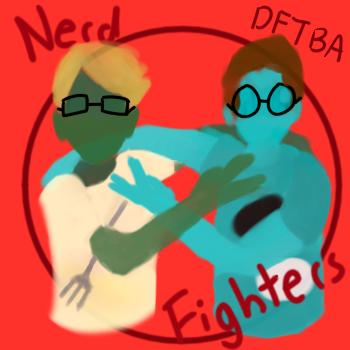 NerdFighter Logo by Chromneus