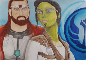 SWTOR Jedi Guardian and Sage for Kayeri/Sableflame