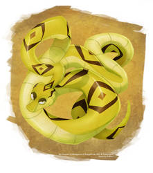 He's a long, long snake by Koklico