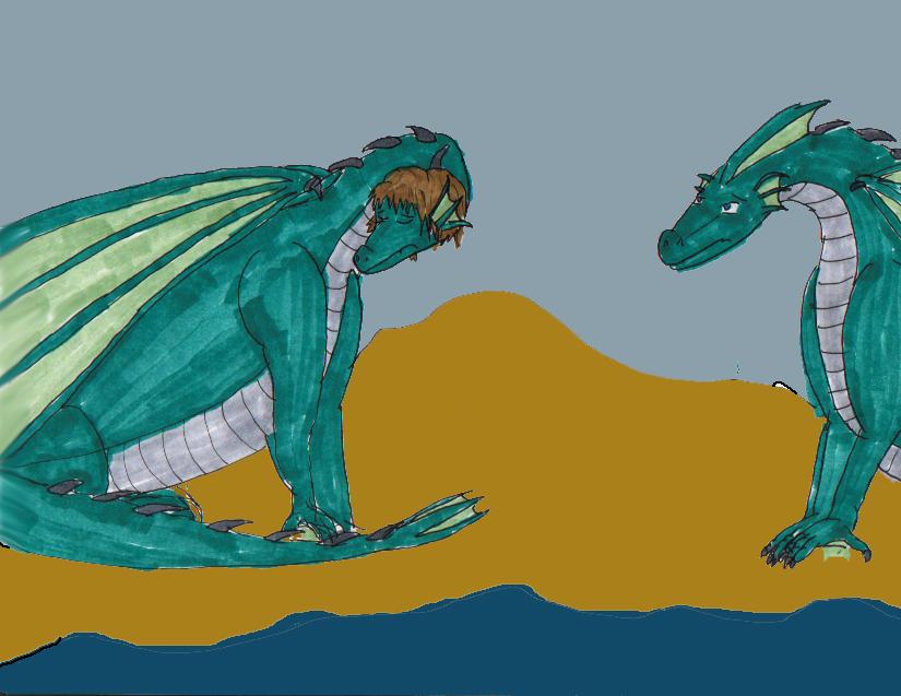 Cetus and Andromeda 14 by Kathalia