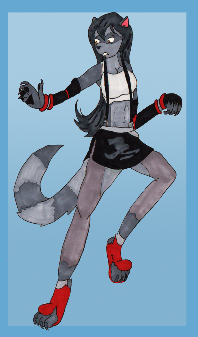 Choose the Change 3:  Tifa Racoon TF by Kathalia