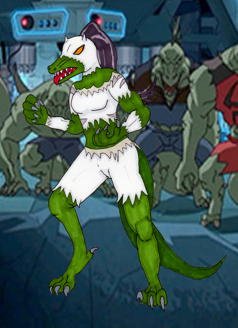 Lizard girl transformation porn - Ultimate white lizard kathalia on  deviantart png 762x1048