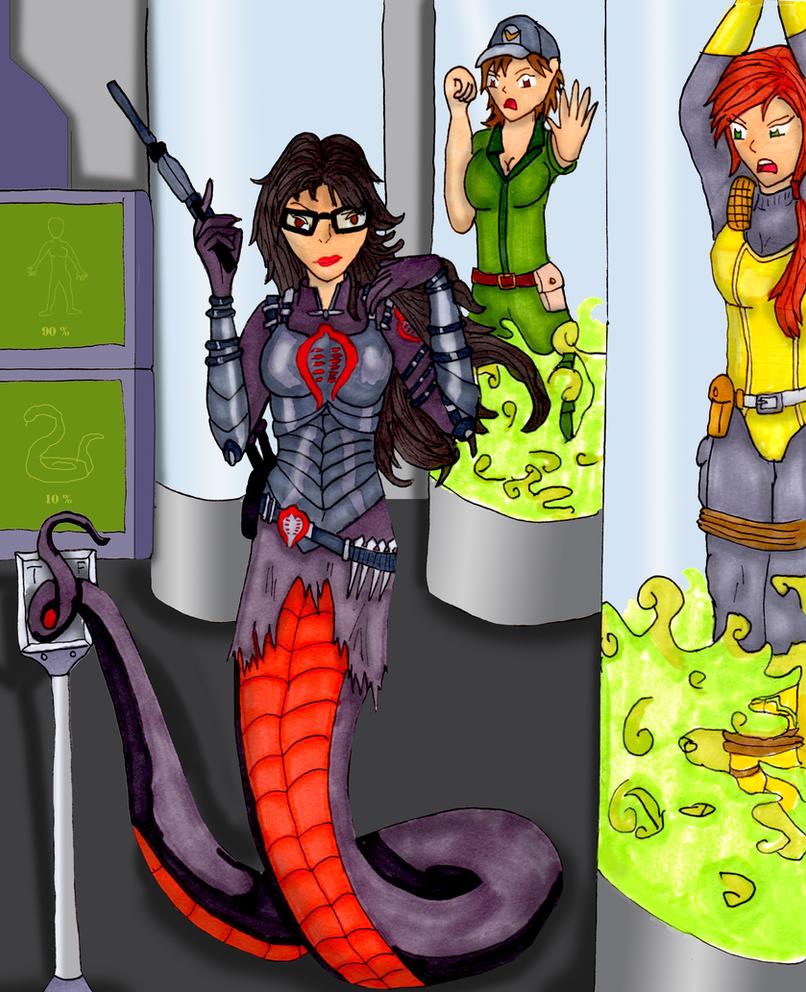 Baroness of Cobra (Redraw) by Kathalia