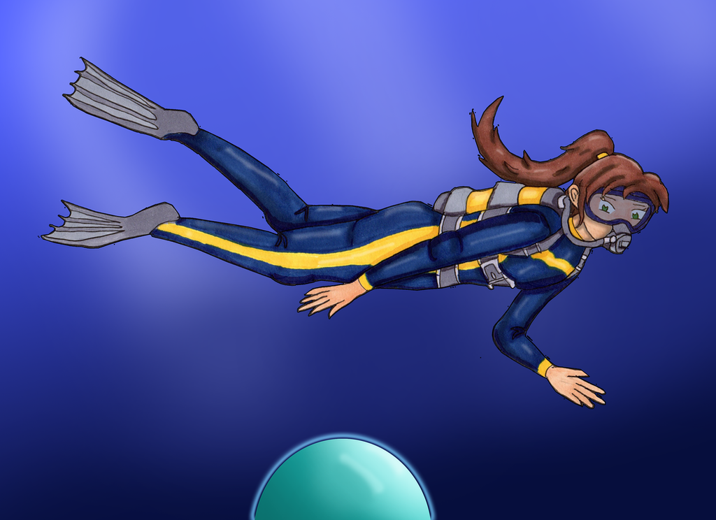 Pearl Dive 1 by Kathalia