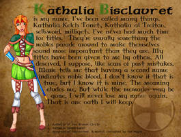 Kathalia Q+A - Name