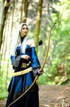 Mage with Bow+Arrow  Dragon Age Origins