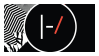 TWENTY ONE PILOTS Stamp {F2U} by Rubix-Cubez