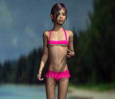 real DayLight in Poser 5 by ELAiko