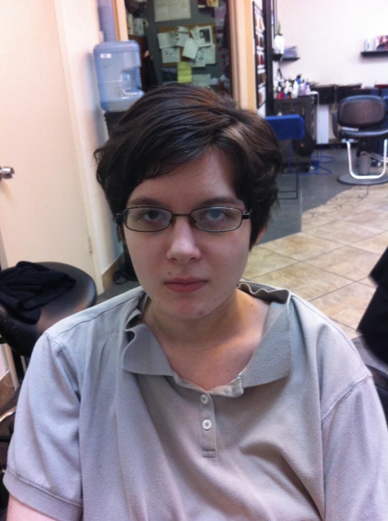 My new hair cut by wolvesanddogs23