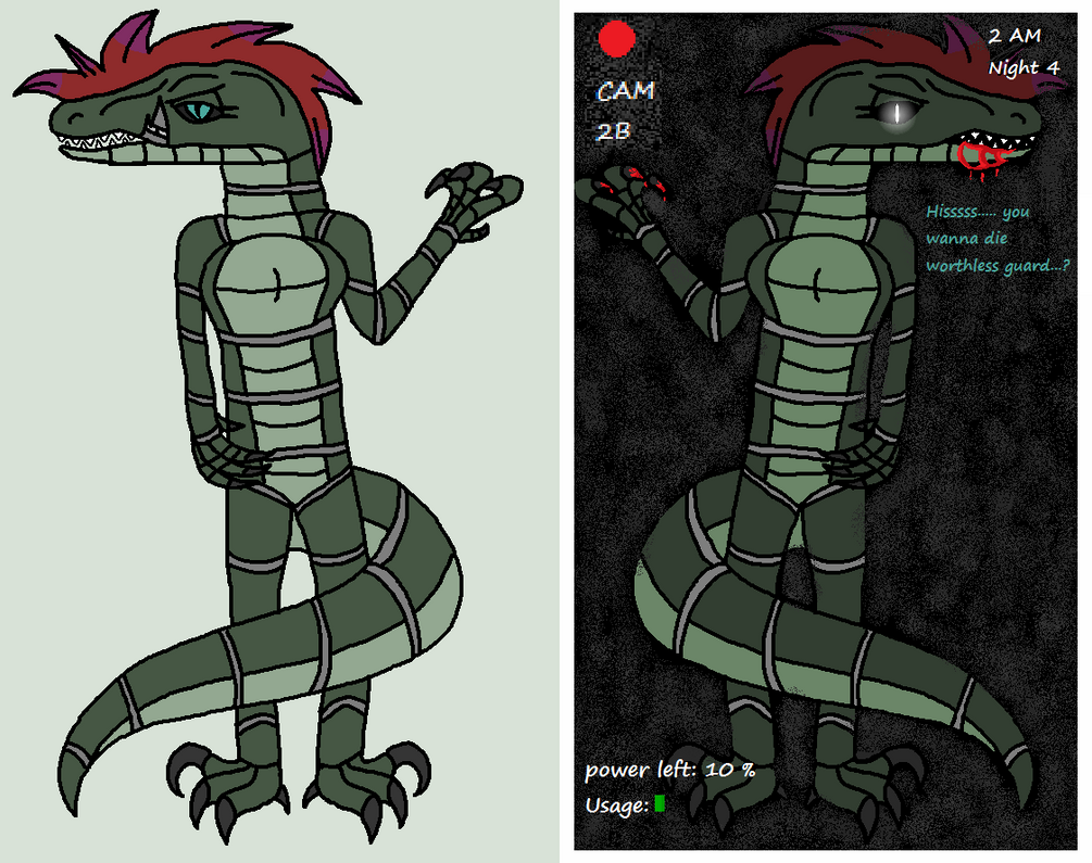 Silvia The Raptor by wolvesanddogs23