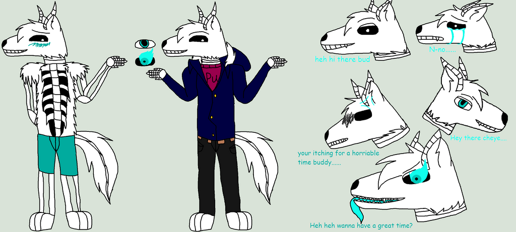 Jacksan ref sheet by wolvesanddogs23