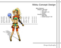 Rikku Blitz Sphere by RoxyRoo