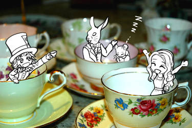 The Mad Tea Party by RoxyRoo