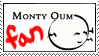 MontyOum Stamp by RoxyRoo