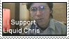 Support Liquid Chris stamp by RoxyRoo