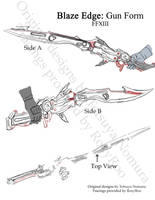 Blaze Edge: Sword by RoxyRoo