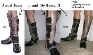 Lightning Boots: Complete by RoxyRoo