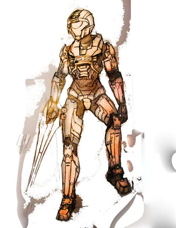 Spartan-326, aka: Runt by RoxyRoo