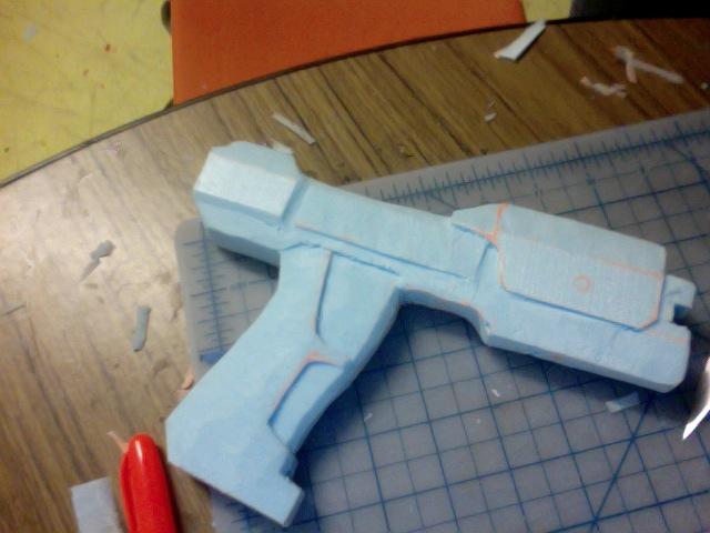 Halo 1 Pistol WIP by RoxyRoo