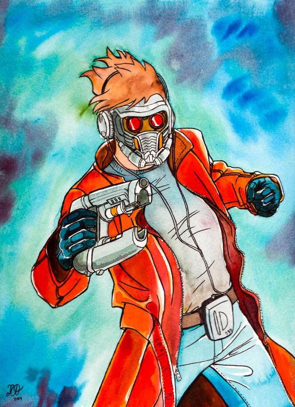 Star Lord by RoxyRoo