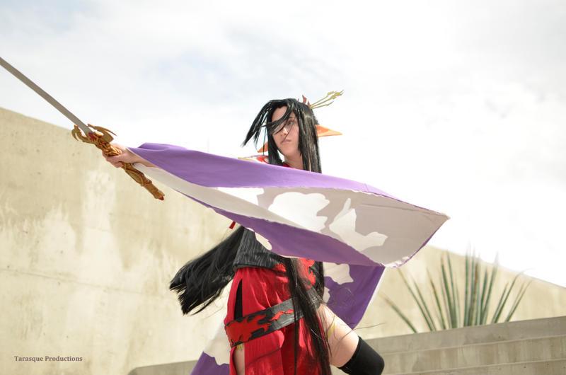 Tsubasa: Swordsman of Fire by RoxyRoo