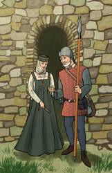 Morgan and Mereduth by RoxyRoo