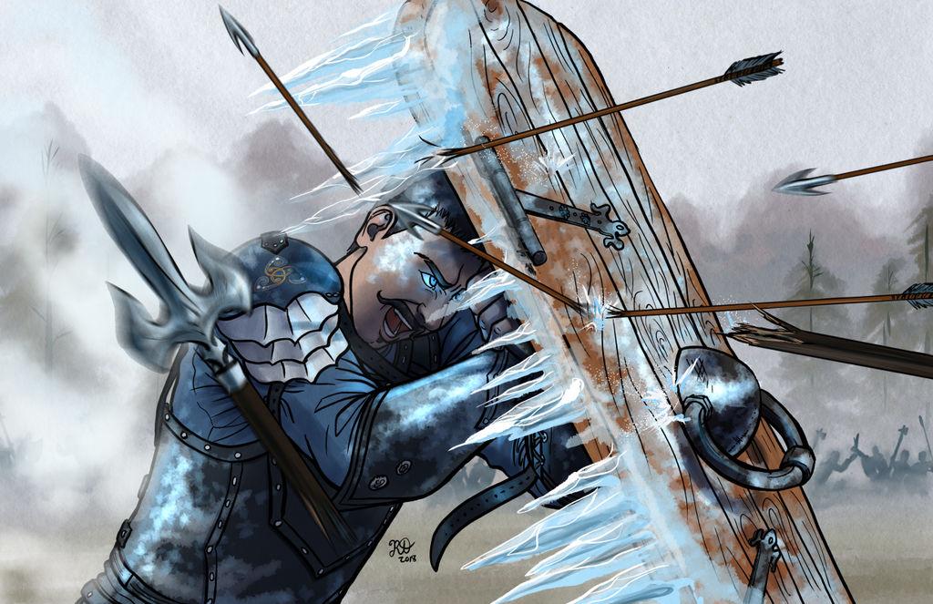Valdir, Breaker of Things: Character Commission by RoxyRoo