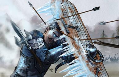 Valdir, Breaker of Things: Character Commission