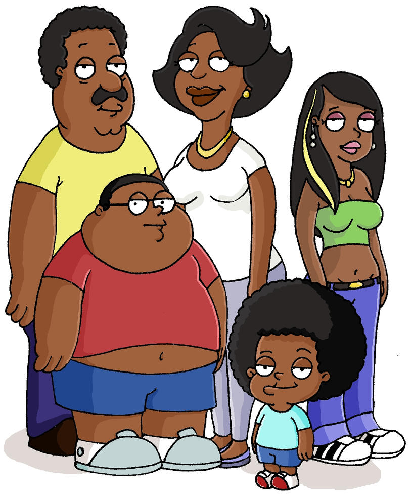 the cleveland show in colour by dansketch7 on DeviantArt