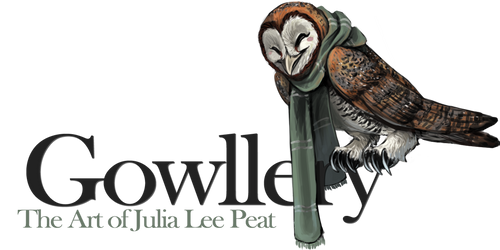 Gowllery Logo by JuliaLeePeat