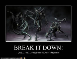 Xenomorph Motive by Alloclaw