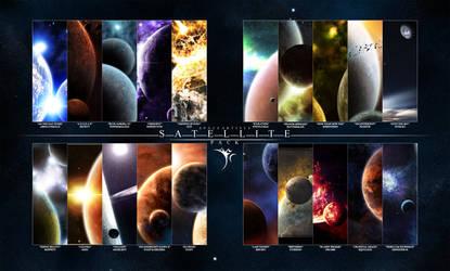 -SPACEARTISTS- SATELLITE PACK