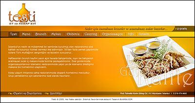 Web interface for a restaurant by muzeyyendemirel