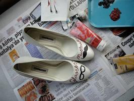 Wedding shoes by muzeyyendemirel