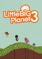LittleBigPlanet 3 Minimalist Poster by lewisdowsett