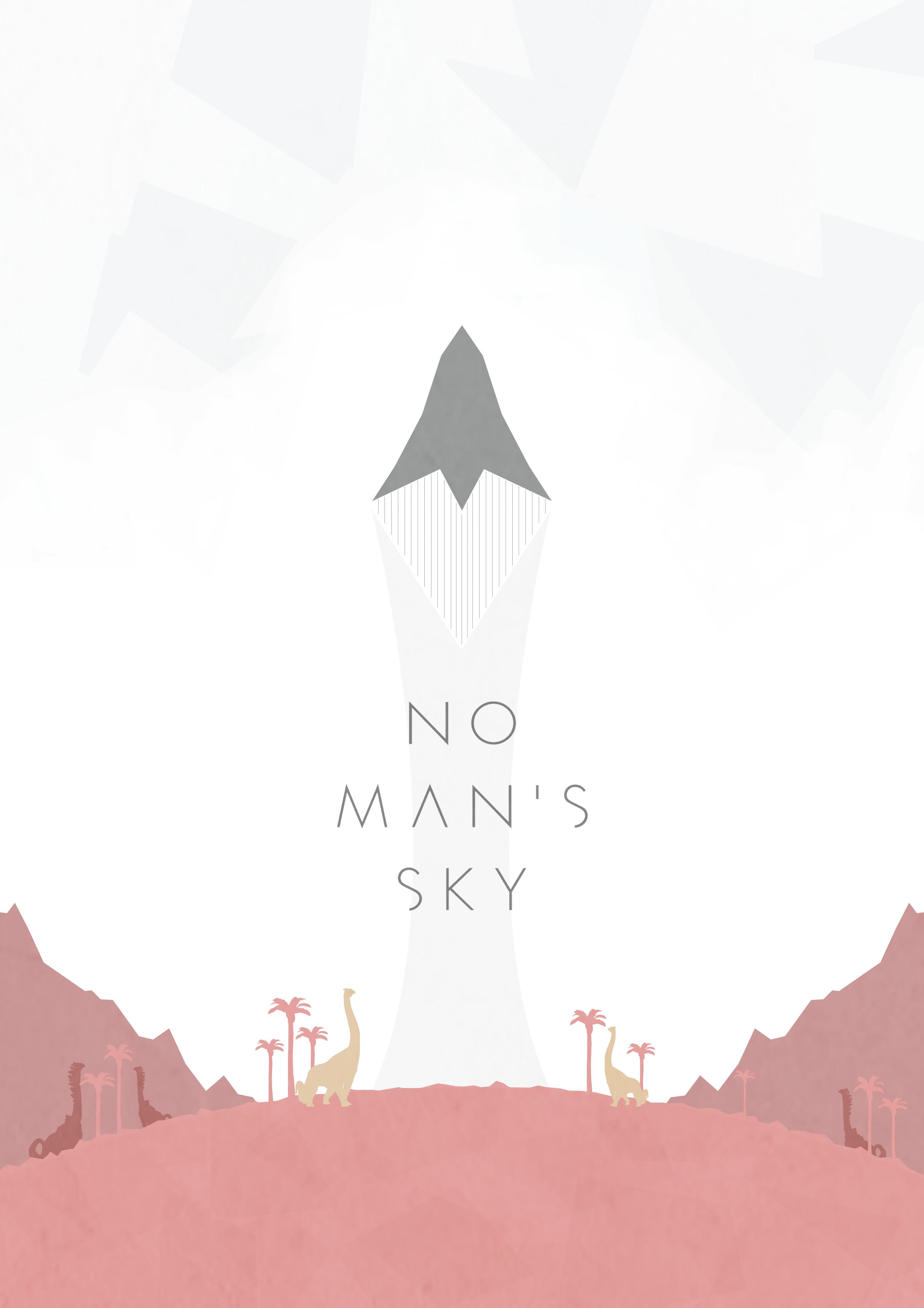 No Mans Sky Poster By Lewisdowsett On Deviantart