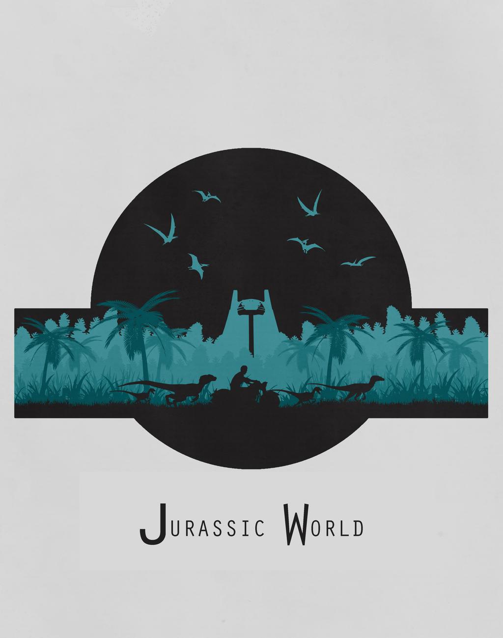 Jurassic World T-shirt Design