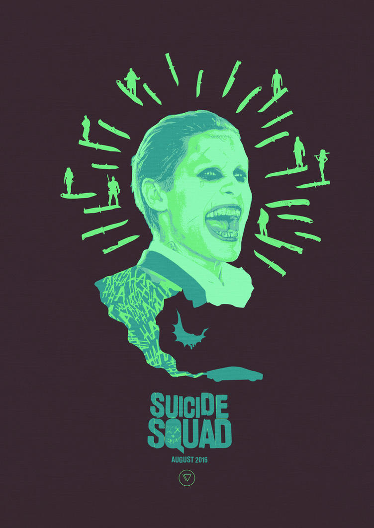 We're the bad guys - Suicide Squad by lewisdowsett