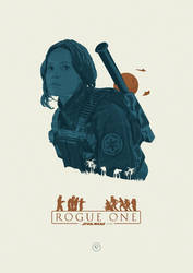 I rebel - Rogue One: A Star Wars Story by lewisdowsett