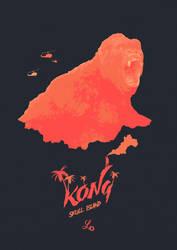Monsters Exist - Kong: Skull Island by lewisdowsett
