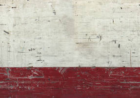 red-white metal wall by Vortex-X