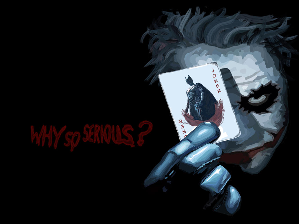 Why So Serious? By Vortex-X On DeviantArt