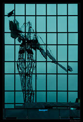 reflected crane 01 by Lukasszz81