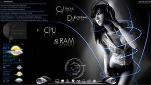 Another Rainmeter Desktop