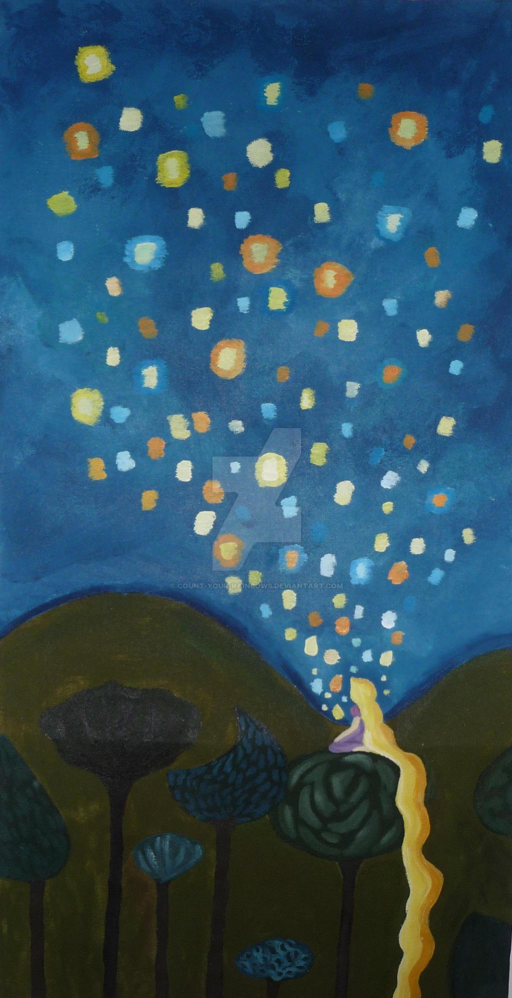 Rapunzel's Dream by Count-Your-Rainbows on DeviantArt