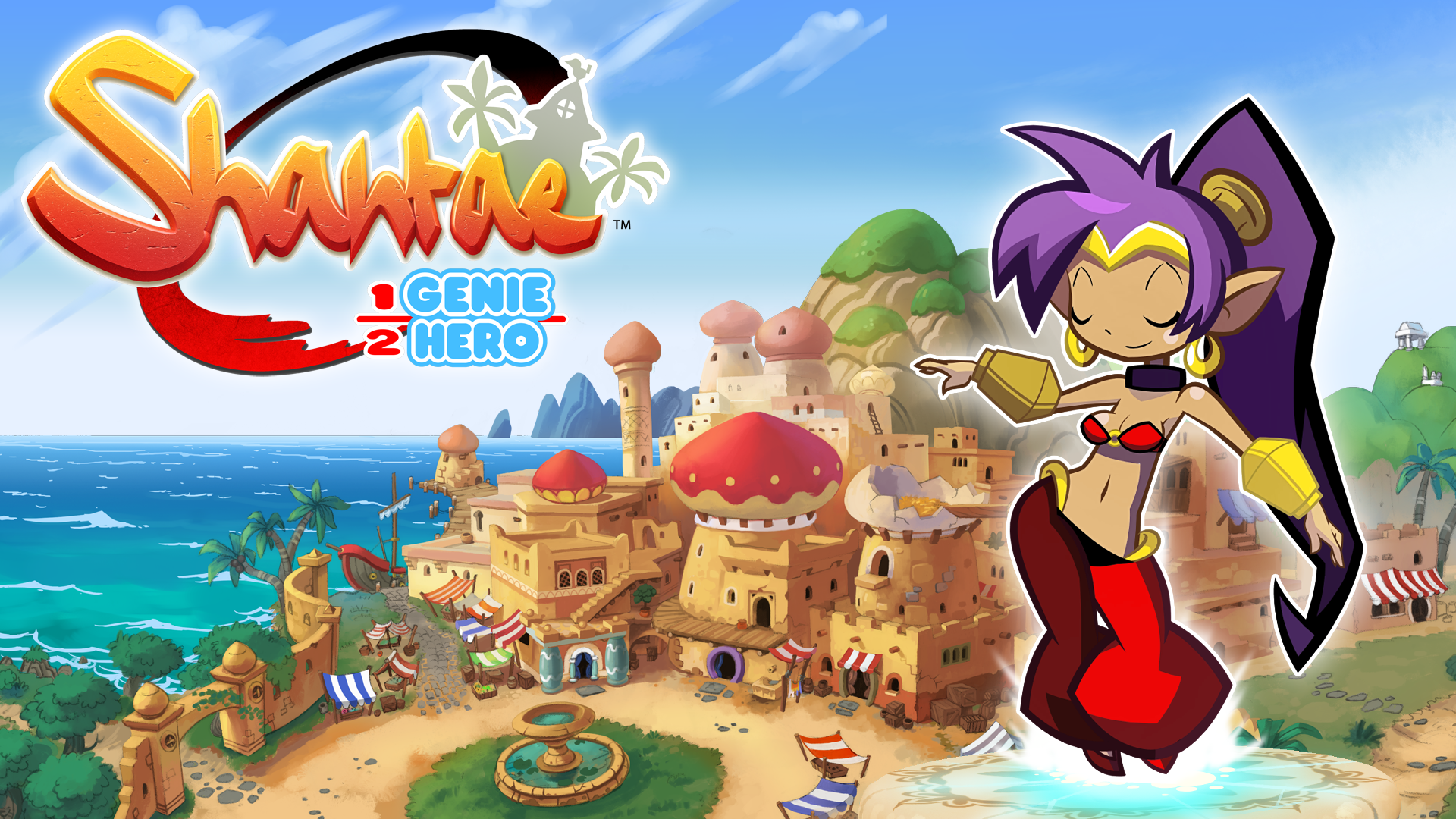 Shantae Half Genie Hero 100 Wallpaper By Masterrafalpl On