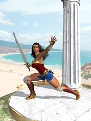 Fantasy Heroines :  Wonder Woman 20-10