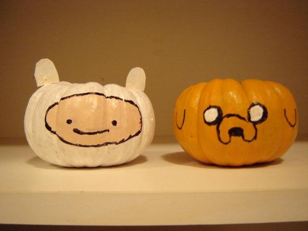 Adventure Time Pumpkins by Jhuyu26