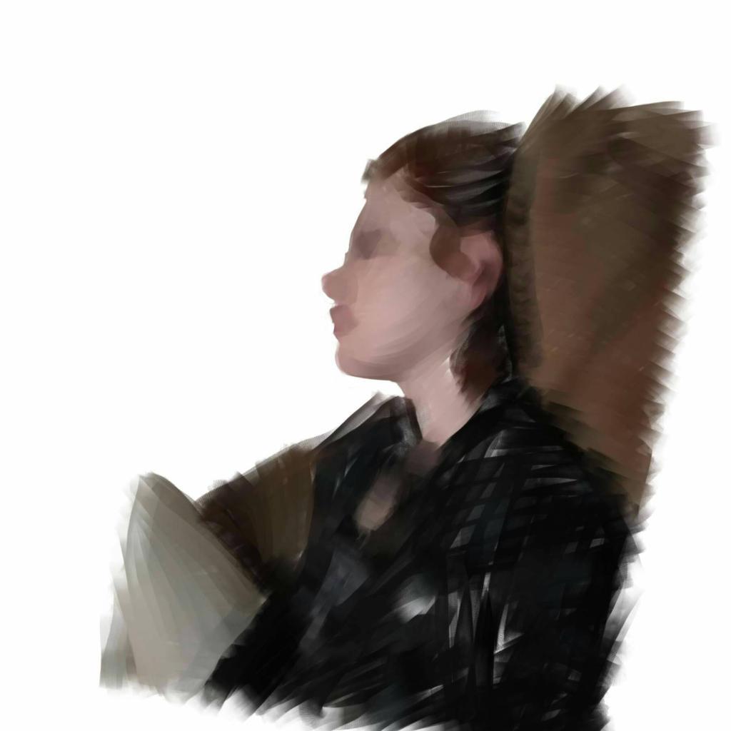 Self Portrait Concept Sketch by ZeitlosLotus